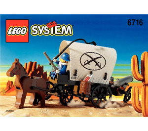 LEGO Covered Wagon Set 6716 Instructions