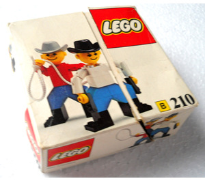 LEGO Cowboys Set 210-1 Packaging