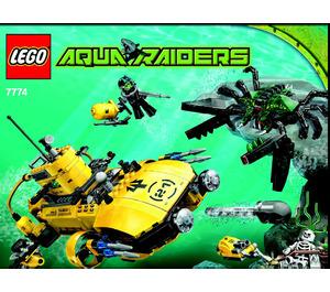 LEGO Crab Crusher Set 7774 Instructions