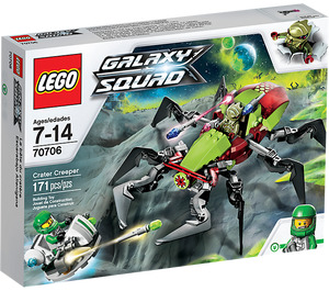 LEGO Crater Creeper Set 70706 Packaging