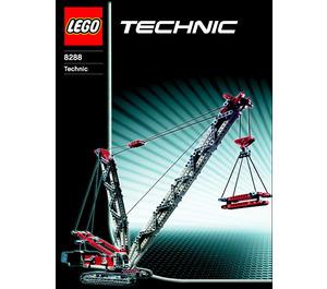 LEGO Crawler Crane Set 8288 Instructions