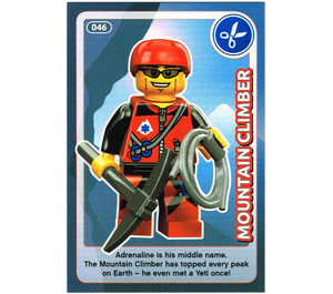 LEGO Create the World Card 046 - Mountain Climber