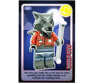 LEGO Create the World Card 085 - Wolf Guy