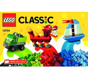 LEGO Creative Box Set 10704 Instructions