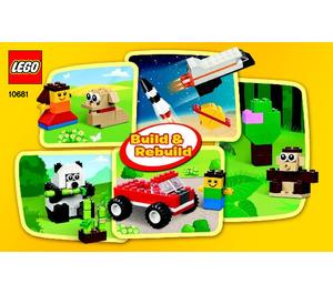 LEGO Creative Building Cube Set 10681 Instructions