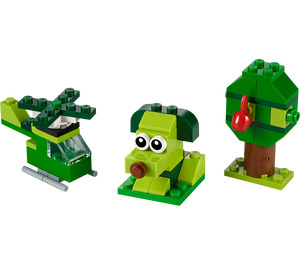LEGO Creative Green Bricks Set 11007