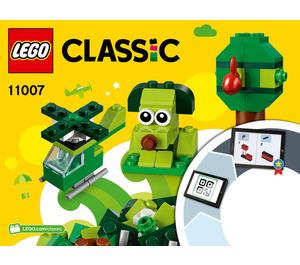 LEGO Creative Green Bricks Set 11007 Instructions