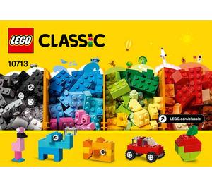 LEGO Creative Suitcase Set 10713 Instructions