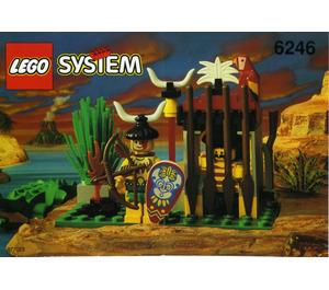LEGO Crocodile Cage Set 6246
