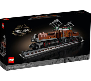 LEGO Crocodile Locomotive Set 10277 Packaging