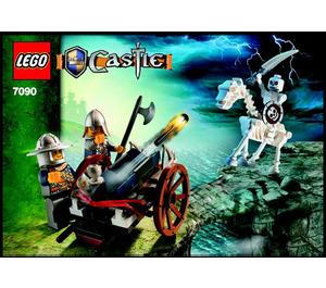 LEGO Crossbow Attack Set 7090 Instructions