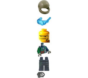 LEGO Crunch, Command Sub Outfit Minifigure