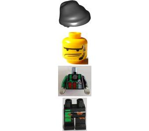 LEGO Crunch Minifigure