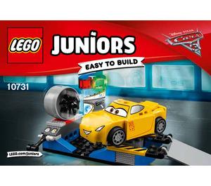 LEGO Cruz Ramirez Race Simulator Set 10731 Instructions