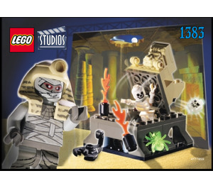 LEGO Curse of the Pharaoh Set 1383 Instructions