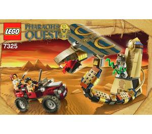 LEGO Cursed Cobra Statue Set 7325 Instructions