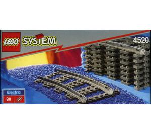 LEGO Curved Rails Set 4520