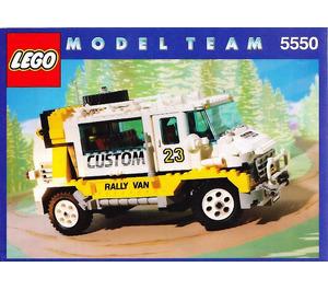 LEGO Custom Rally Van Set 5550