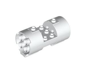 LEGO Cylinder 3 x 6 x 2 2/3 Horizontal Hollow Center Studs (30360)
