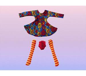 LEGO Dancing Circle Dress for Girls Set 3140