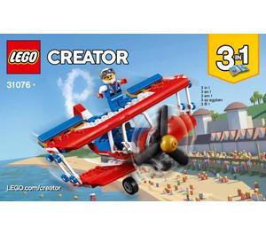 LEGO Daredevil Stunt Plane Set 31076 Instructions