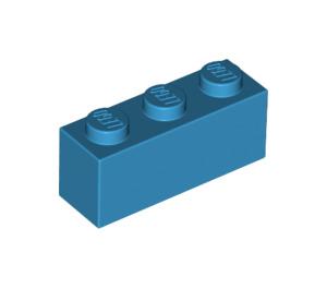 LEGO Dark Azure Brick 1 x 3 (3622)