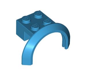 LEGO Dark Azure Mudguard with Round Arch 4 x 2 1/2 x 2 (50745)