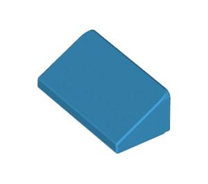 LEGO Dark Azure Slope 1 x 2 (31°) (85984)