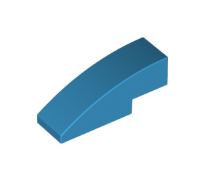 LEGO Dark Azure Slope 1 x 3 Curved (50950)