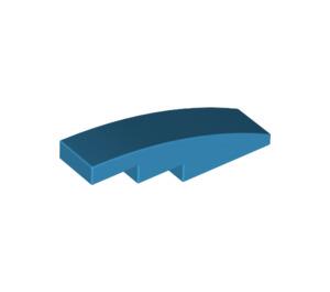 LEGO Dark Azure Slope 1 x 4 Curved (11153)