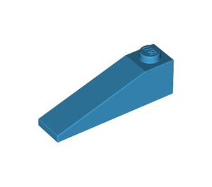 LEGO Dark Azure Slope 1 x 4 x 1 (18°) (60477)