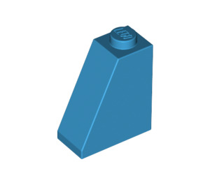 LEGO Dark Azure Slope 65° 1 x 2 x 2 (60481)