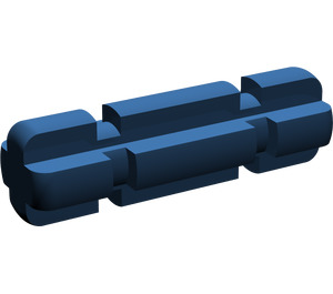 LEGO Dark Blue Axle 2 with Grooves