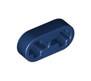 LEGO Dark Blue Beam 2 x 0.5 with Axle Holes (41677)