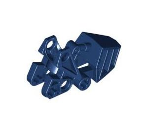 LEGO Dark Blue Bionicle Foot Matoran with Ball Socket (62386)