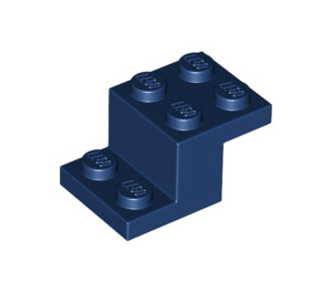 LEGO Dark Blue Bracket 2 x 3 with Plate and Step (18671)
