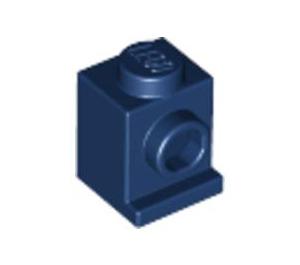LEGO Dark Blue Brick 1 x 1 with Headlight and No Slot (4070)