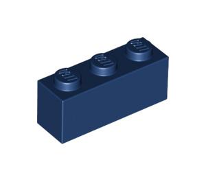 LEGO Dark Blue Brick 1 x 3 (3622)