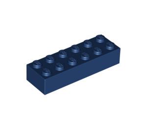 LEGO Dark Blue Brick 2 x 6 (44237)