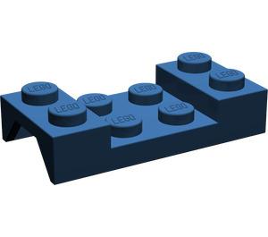 LEGO Dark Blue Car Mudguard 2 x 4 without Hole (3788)