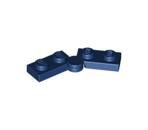 LEGO Dark Blue Hinge Plate 1 x 4 (19954)