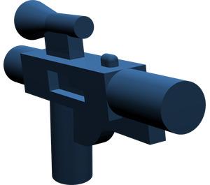 LEGO Dark Blue Minifig Gun Short Blaster