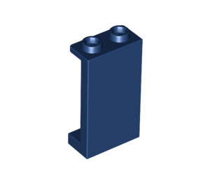 LEGO Dark Blue Panel 1 x 2 x 3 with Side Supports - Hollow Studs (87544)