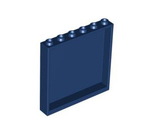 LEGO Dark Blue Panel 1 x 6 x 5 (59349)