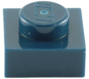LEGO Dark Blue Plate 1 x 1 (3024)