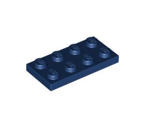 LEGO Dark Blue Plate 2 x 4 (3020)