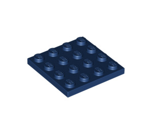 LEGO Dark Blue Plate 4 x 4 (3031)