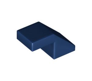 LEGO Dark Blue Slope 1 x 2° 45 (28192)