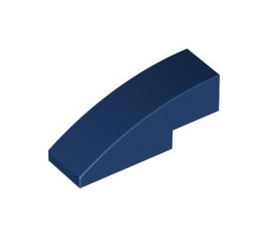 LEGO Dark Blue Slope 1 x 3 Curved (50950)