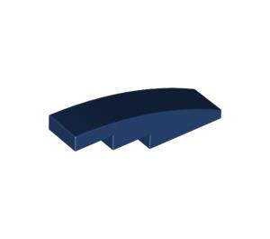 LEGO Dark Blue Slope 1 x 4 Curved (11153 / 61678)